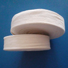 Electrical cotton tape For motor and transformer coil insulating binding. It has Plain and twill, standard width: (mm) 15, 20, 25, 30.